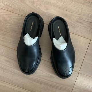 エンダースキーマ(Hender Scheme)のhender scheme 【 commando mule 】(試着のみ)(ローファー/革靴)