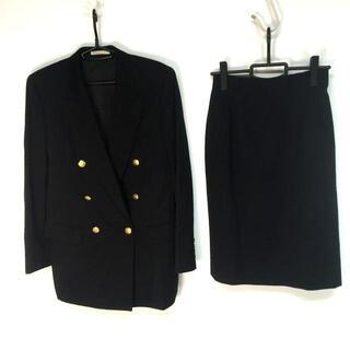 アクアスキュータム(AQUA SCUTUM)のアクアスキュータム レディース美品  - 黒(スーツ)