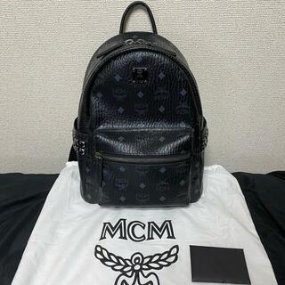 MCM - MCM リュック バックパック 黒 ブラック Sサイズ