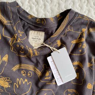 コドモビームス(こども ビームス)の【新品・未使用】moi moi おえかき お顔Tシャツ 130cm(Tシャツ/カットソー)