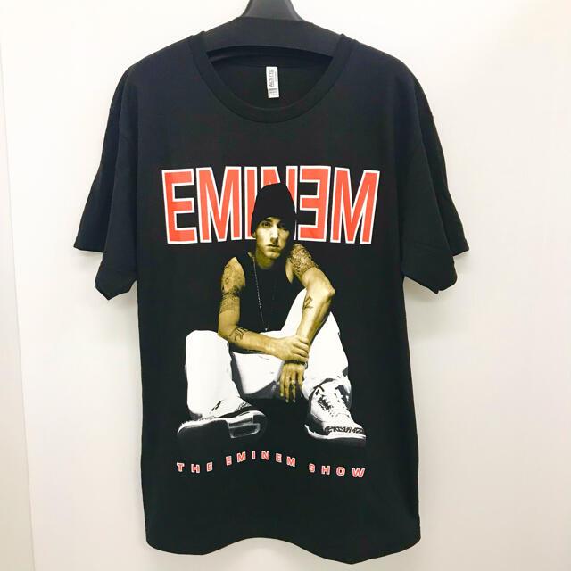 エミネム  Mサイズ ラップTシャツ Rap Tee Eminem メンズのトップス(Tシャツ/カットソー(半袖/袖なし))の商品写真