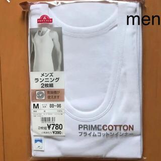 イオン(AEON)のmen's 肌着 ランニングシャツ 《2枚組》(その他)