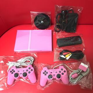 プレイステーション2(PlayStation2)の【超可愛いセット】【レア商品】♡PS2 本体 PS2 77000 ピンク♡(家庭用ゲーム機本体)