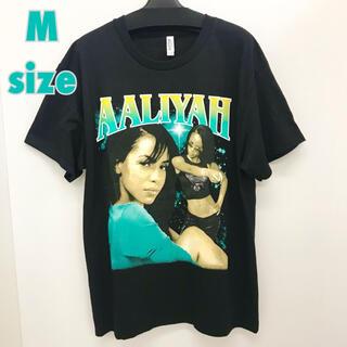 アリーヤ  Mサイズ ラップTシャツ Rap Tee AALIYAH(Tシャツ/カットソー(半袖/袖なし))
