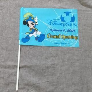 Disney - レア!ディズニーシー グランドオープン記念 旗