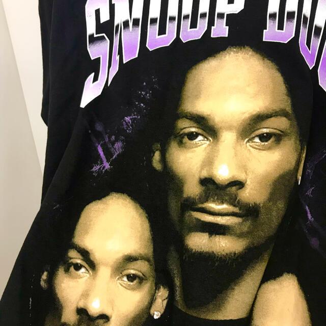 スヌープドッグ Lサイズ ラップTシャツ Rap Tee Snoop dogg メンズのトップス(Tシャツ/カットソー(半袖/袖なし))の商品写真