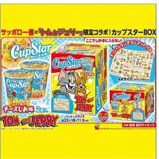 新品 トムとジェリー サッポロ一番カップスターBOX ランチョンマット付き(インスタント食品)