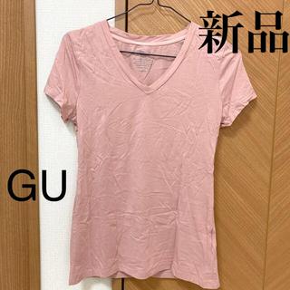 ジーユー(GU)の新品☆ GU 半袖Tシャツ(Tシャツ(半袖/袖なし))