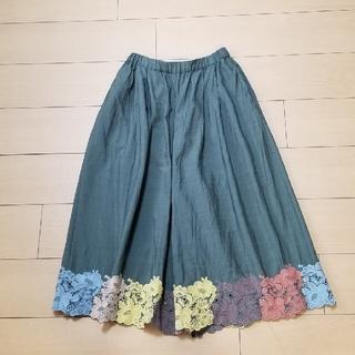 mina perhonen - ミナペルホネン smile flower パンツ 38