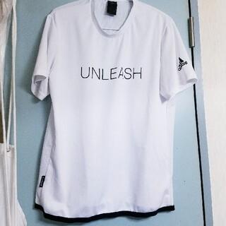 アディダス(adidas)のadidas ☆ UNLEASH メッシュTシャツ (Tシャツ/カットソー(半袖/袖なし))