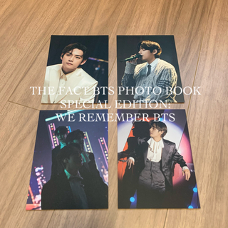 THE FACT BTS PHOTO BOOK ポストカード テヒョン