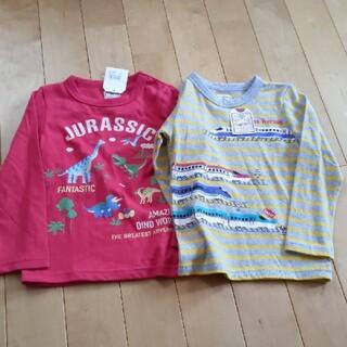 motherways - 新品 長袖Tシャツ2枚セット A 110cm  マザウェイズ