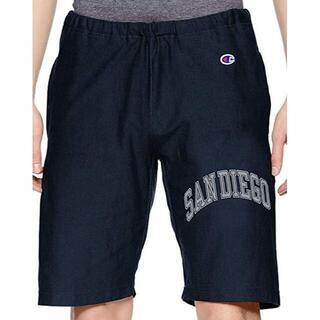 チャンピオン(Champion)のチャンピオン リバースウィーブ ショートパンツ XLサイズ ネイビー メンズ(ショートパンツ)