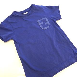 フェンディ(FENDI)のフェンディ  FENDI Tシャツ  トップス カットソー ブルー(Tシャツ/カットソー)