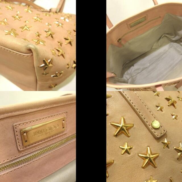 JIMMY CHOO(ジミーチュウ)のジミーチュウ レディース サシャS レザー レディースのバッグ(トートバッグ)の商品写真