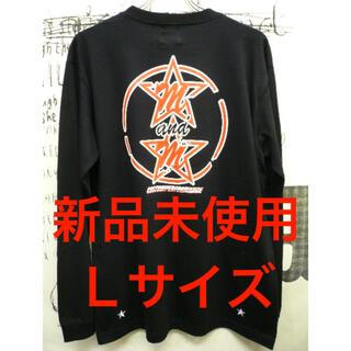 エムアンドエム(M&M)の【新品未使用】m&m custom performanceプリントTブラック L(Tシャツ/カットソー(七分/長袖))
