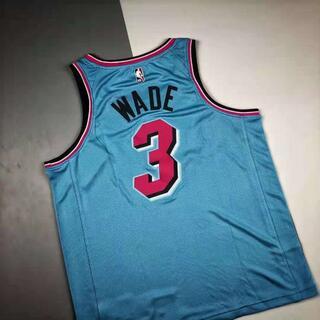 ナイキ(NIKE)のマイアミ・ヒートのファン限定ウェイドの背番号「3」(ジャージ)