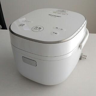 シャープ(SHARP)のマロン様専用シャープ パン調理機能付 ジャー炊飯SHARP KS-CF05A-W(炊飯器)