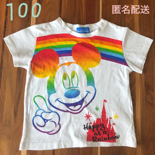Disney - ディズニーリゾート Tシャツ ミッキー100㎝