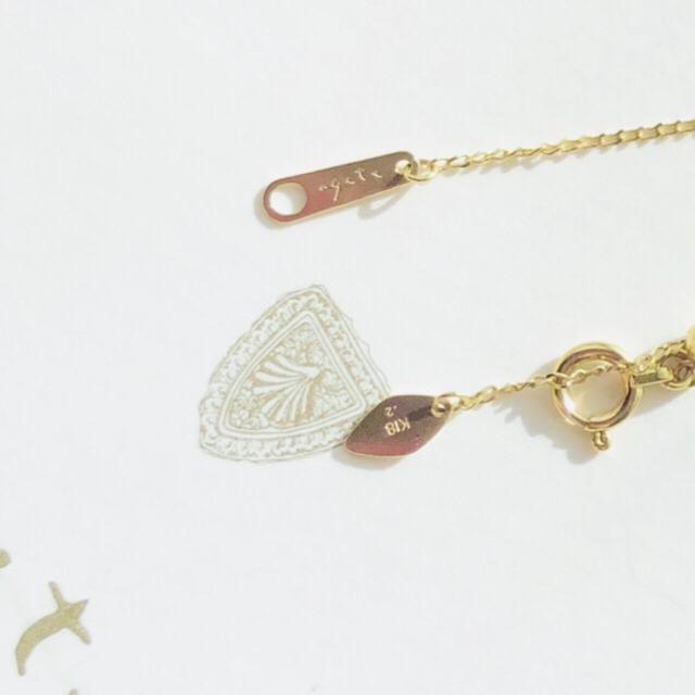 agete(アガット)のどんどこどん様専用 アガット ダイヤモンドネックレス 0.2ct K18 レディースのアクセサリー(ネックレス)の商品写真