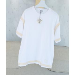 ロエベ(LOEWE)のLOEWE ロエベ ホワイト Tシャツ(Tシャツ/カットソー(半袖/袖なし))