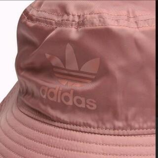 アディダス(adidas)のアディダス オリジナルス ハット ローピンク OSFX 新品 未使用 紙タグ付き(ハット)