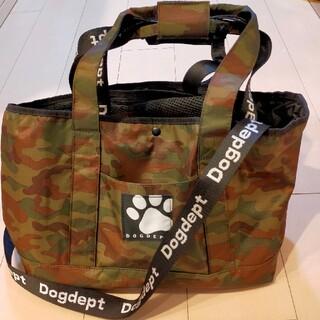 DOG DEPT - DOGDEPT ロゴテープ キャリーバッグ  Sサイズ