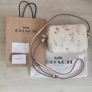 COACH - 新品 コーチ COACH フラワー 花柄 ショルダーバッグ