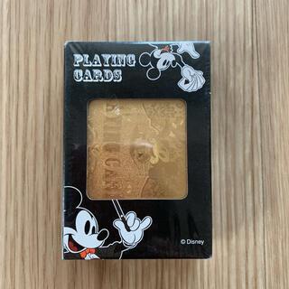 ディズニー(Disney)のディズニー ミッキーマウス ゴールド 金色 トランプ Playing Cards(トランプ/UNO)