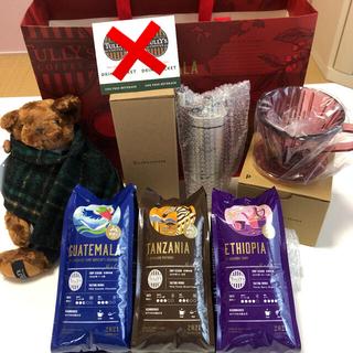 タリーズコーヒー(TULLY'S COFFEE)のタリーズ  コーヒーミル&ドリッパー+コーヒー豆セット(コーヒー)