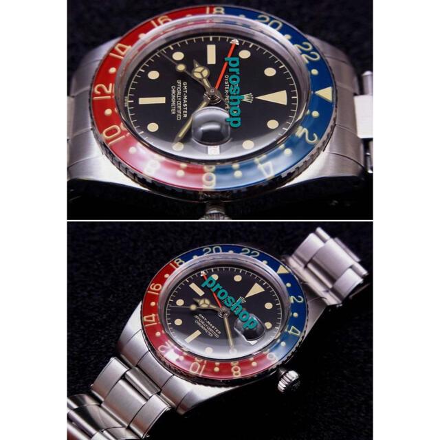 ROLEX(ロレックス)のビンテージ モデル初代 Ref.6542 ペプシ28800振動修理用部品     メンズの時計(腕時計(アナログ))の商品写真