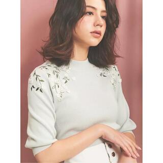 ノエラ(Noela)のNoela(ノエラ)立体フラワー刺繍ニット(ニット/セーター)