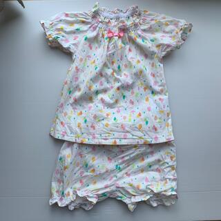 ニシマツヤ(西松屋)の西松屋 パジャマ サイズ80cm 半袖半ズボン(パジャマ)