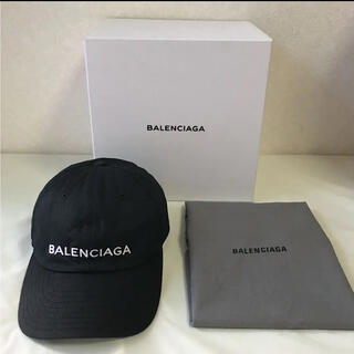 Balenciaga - 【希少】BALENCIAGA バレンシアガ キャップ 国内正規 人気のブラック