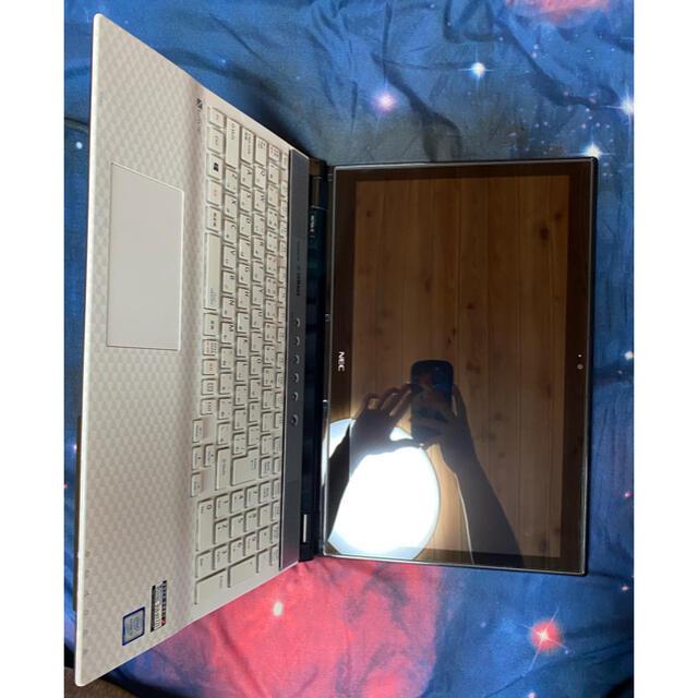 NEC(エヌイーシー)のNEC ノートパソコン  YAMAHA スピーカー スマホ/家電/カメラのPC/タブレット(ノートPC)の商品写真