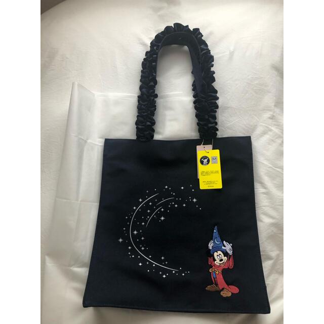 Maison de FLEUR(メゾンドフルール)のメゾンドフルール×ファンタジア フリルトートバッグ レディースのバッグ(トートバッグ)の商品写真