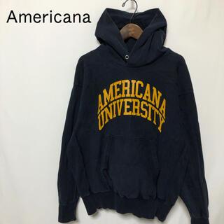 アメリカーナ(AMERICANA)の【Americana】ブランドロゴ プルオーバーパーカー(パーカー)