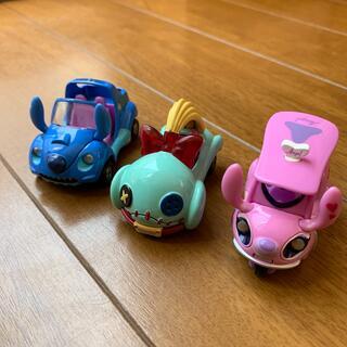 ディズニー(Disney)のトミカ スティッチ達 3こセットです(ミニカー)