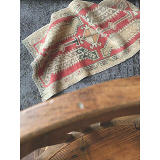 51×100 HAPPY BRIDGE♪ VINTAGE SMALL-RUG