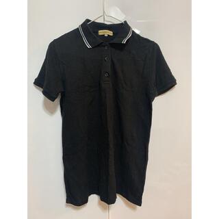 シマムラ(しまむら)のCLOSSHI(クロッシー) ポロシャツ ブラック メンズ レディース(ポロシャツ)
