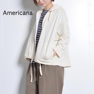 アメリカーナ(AMERICANA)の【Americana】Aラインパーカー(パーカー)
