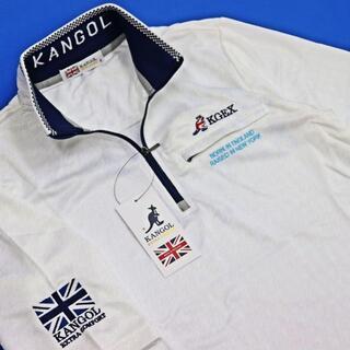 カンゴール(KANGOL)の(新品) KANGOL GOLF ハーフジップ 半袖 シャツ(ポロシャツ)