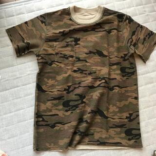 ローズバッド(ROSE BUD)のRose badリバーシブルT  カモフラ/グレー(Tシャツ/カットソー(半袖/袖なし))