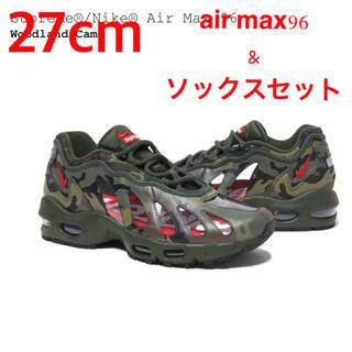 シュプリーム(Supreme)のセット売り Supreme Nike Air Max 96 & socks(スニーカー)