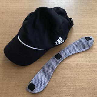 アディダス(adidas)のアディダス 子供用帽子(取り外せる保冷シート付き)(帽子)