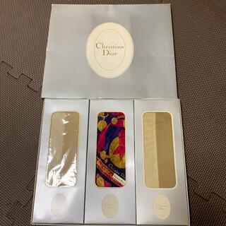 クリスチャンディオール(Christian Dior)のディオール スカーフ ストッキング セット(タイツ/ストッキング)