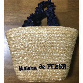メゾンドフルール(Maison de FLEUR)のメゾンドフルール カゴ バッグ(かごバッグ/ストローバッグ)
