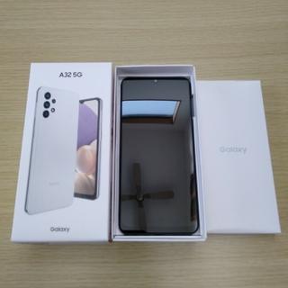 Galaxy - 【✨新品・未使用✨】サムスン Galaxy A32 5G オーサムホワイト