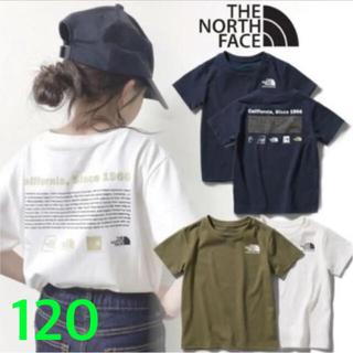 THE NORTH FACE - ノースフェイス キッズ 半袖 Tシャツ ヒストリカル ロゴ 120