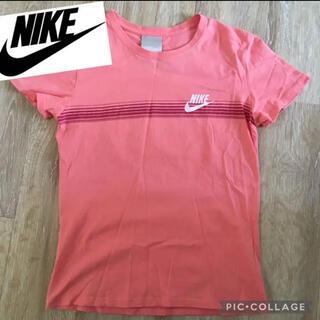 ナイキ(NIKE)のNIKE ナイキ Tシャツ レディース ピンク L(Tシャツ(半袖/袖なし))